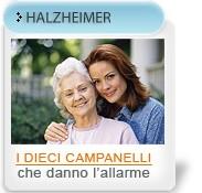 Alzheimer: i 10 campanelli che danno l'allarme