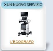 Un nuovo servizio: l'Ecografo